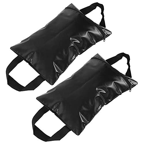 Wosune Pesas para toldo Bolsa de Arena, Material de PVC Diseño de Mango Larga Vida útil Conveniente para Llevar Peso Carpa Refugios Bolsa de Arena para Exteriores para Red de béisbol ⭐