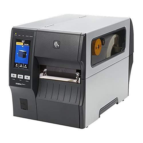 Zebra ZT411 stampante con bordo a strappo – 203 dpi – Termica diretta, trasferimento termico, larghezza di stampa massima di 104 mm, Bluetooth, LAN, seriale, USB, host (ZT41142-T0E000Z)