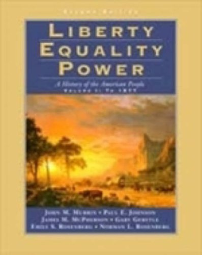LIBERTY, EQUALITY, POWER VOL 1 2E