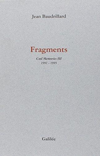 FRAGMENTS.: Cool Memories 3 1991-1995 (Incises)