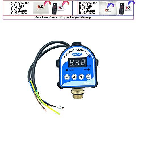 WPC10 Digitale Wasserdruckschalter Digitalanzeige Eletronic Druckregler für Wasserpumpe mit G1 / 2