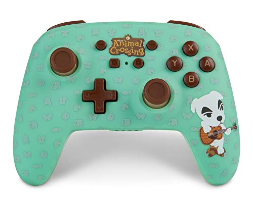 PowerA Enhanced Wireless Controller for Nintendo Switch - Animal Crossing: K.Slider - Nintendo Switch