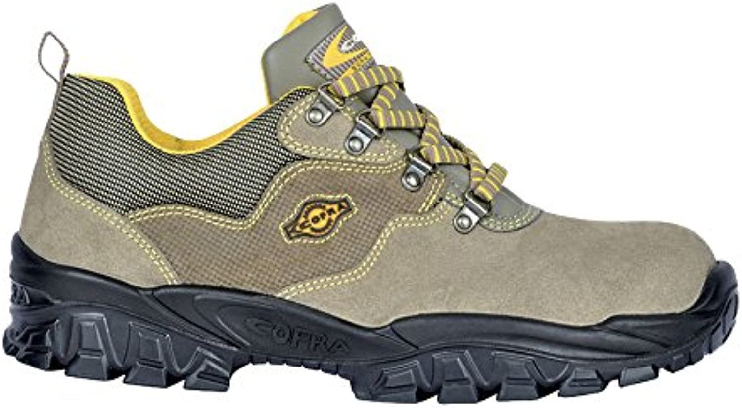 Cofra NT150-000.W48 Work shoes,  New Adige , Size 13, Brown - EN safety certified