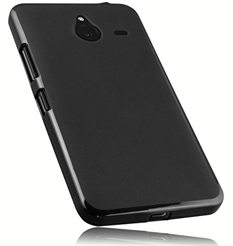 mumbi Hülle kompatibel mit Microsoft Lumia 640 XL Handy Hülle Handyhülle, schwarz