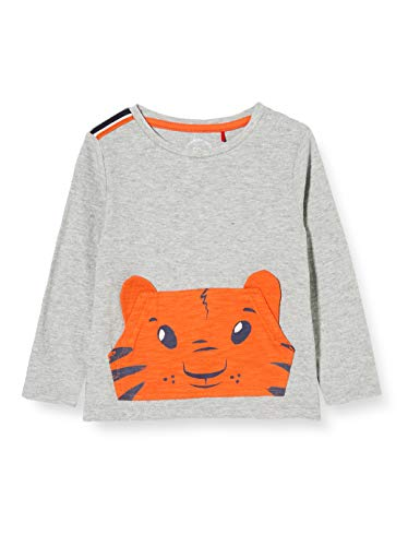 s.Oliver Junior Baby-Jungen 405.10.008.12.130.2041500 T-Shirt, 9400, 74