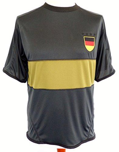 IDM Maillot, Fan, Fan Maillot Manches Longues Allemagne, Allemagne, Gris, Gris