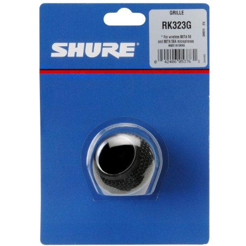 シュアー SHURE RK323G ブラック マイク交換グリル