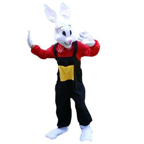 Hasen-Kostüm, Su22 Gr. L-XL, Hase Karnevalskostüm für Männer und Frauen, Hasen-Kostüme für Fasching Karneval, als Karnevals- Fasnachts-Kostüm, Tier-Kostüme Faschings-Kostüme Erwachsene