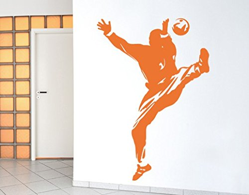 Apalis Wandtattoo No.UL557 Handball Tormann Sport Mannschaft Hobby Spiel Tor, Farbe:Schwarz;Größe:45cm x 32cm