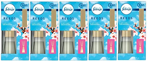 Febreze Reeds Reed Diffuser Red Cherry Blossom 5X 45ml Reed...