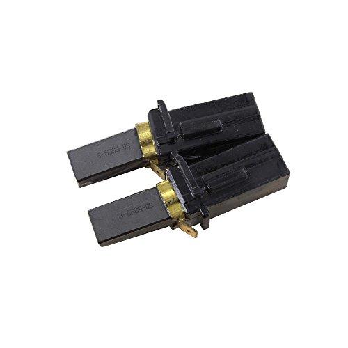 Confezione di 2 spazzole al carbonio Ametek originali per motori di 10,9//12,1//14,4 cm da 220//240 V Ametek