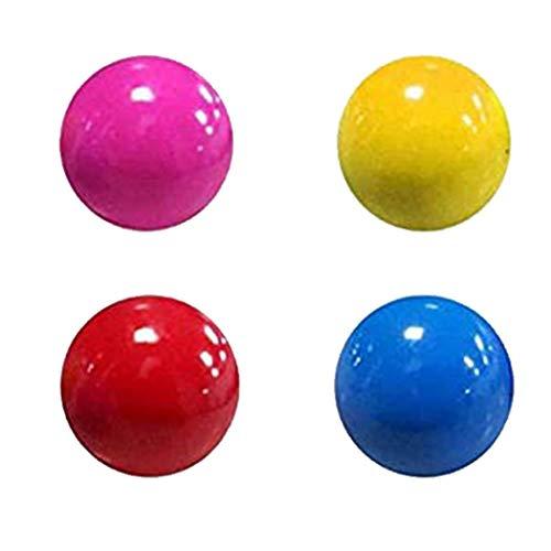 Uayasily Sticky Balls Fluorescent Mur Globbles Stress Relief Jouets Night Light pour Les 4pcs des Adultes Enfants