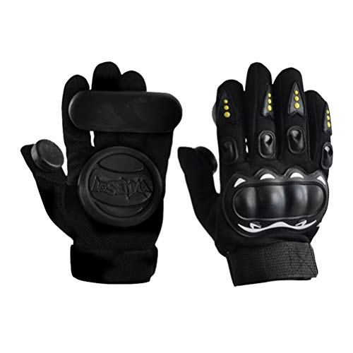 Akemaio Slide Gloves Speed ​​Brake Gloves 1 Paar Land Skateboard Slider Slide Handschuhe Longboard Skateboard Sliding Gloves