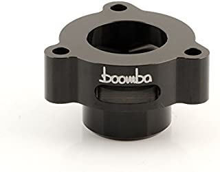 Boomba Racing BOV Blow Off Valve ADAPTOR BLACK for 2014+ Ford Fiesta ST