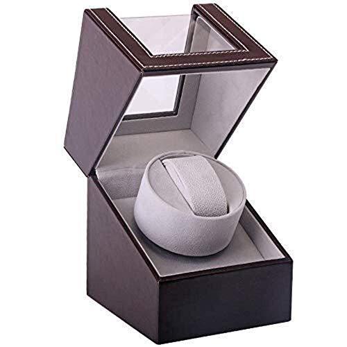 HLJ Reloj del Cuero de la coctelera Simple Reloj eléctrico de la...