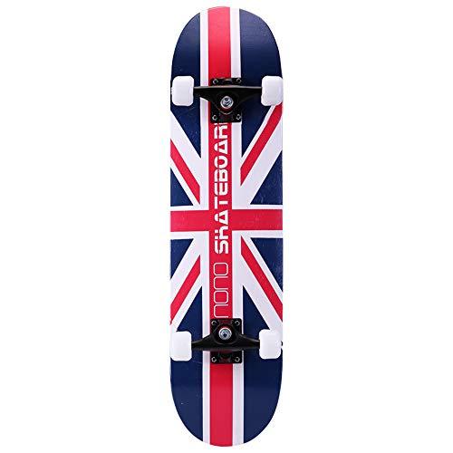 Penny Board Complete Skateboards Cruiserboosted Board 7-stöckiges Ahorndeck für Erwachsene für Erwachsene, Kinder-Skateboard für Anfänger und Profis,G