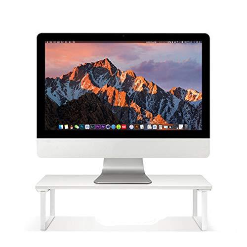 MIAO. Hout Monitor Riser Raiser Plint Stand voor Monitor Laptop Computer TV,Desktop grootte: 52 * 26cm