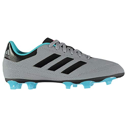 adidas Goletto Vi FG, Zapatillas de Fútbol para Niños, Gris (Grey/Cblack/Supcya), 27 EU