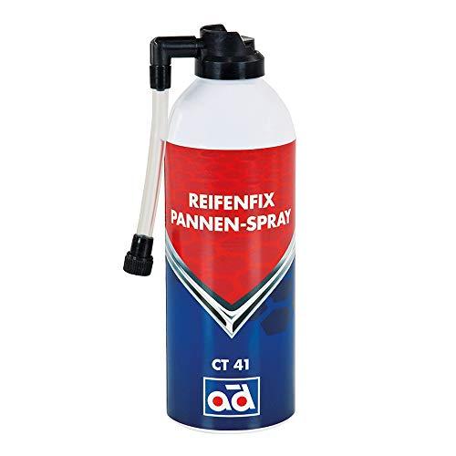 AD Chemie Reifenfix Dichtmittel Ct 41 400Ml Spraydose Reifenpanne Reifen Schlauch Pannenspray Pkw Spray Reparatur Reifendichtmittel Pannenset Gel 402132740