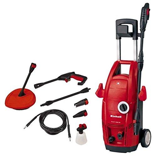 Einhell TC-HP 1538PC Hochdruckreiniger, elektrisch 380L/H 1500W, Farbe rot, 5m Reichweite, 380l/h