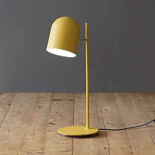 Personalidad creativa de la sala de estar minimalista estudio ojo lámpara de escritorio estudio moderno,Yellow