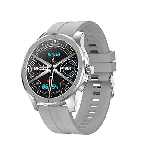 KKZ MX10 Smart Watch Men's 1.28 Pulgadas IPS 256M Almacenamiento Bluetooth Call IP68 Deportes Impermeables Smartwatch para Android iOS,D