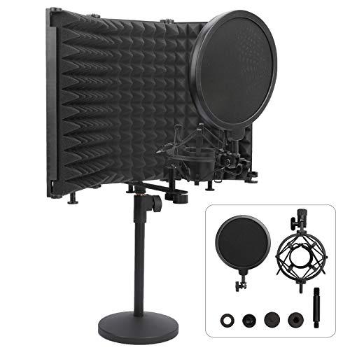 Professional Studio Recording Microphone Isolation Shield, High...