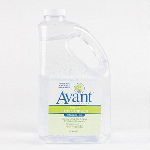 Avant Original Liquid Hand Easy-to-use New Orleans Mall Sanitizer Case of 64 3 oz Bottles