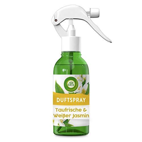 Air Wick Duftspray Taufrisch & Weißer Jasmin – Sinnlich-frisches Raumspray und Lufterfrischer – Geruchsneutralisierend & ohne Treibgas – 1 x 250 ml