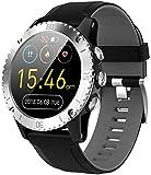 Sport Smart Watch Uomo Bluetooth Musica Informazioni Spingere Frequenza Cardiaca Altezza Pressione Misura Chiamata Promemoria Smartwatch (B)
