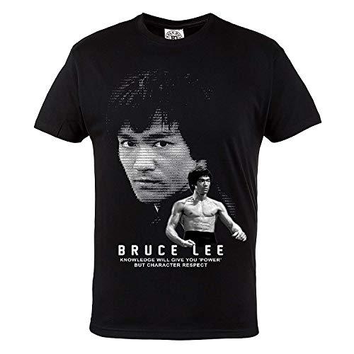 Rule Out T-shirt Abbigliamento sport. BRUCE lee. karate. allenamento. palestra. sportswear. MMA ABBIGLIAMENTO sport. MARZIALE arti. Casual - Nero, Small