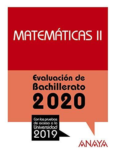 Matemáticas II. (Prepara la Evaluación de Bachillerato)