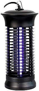 JUNGEN Lámpara AntiMosquitos Eléctrico 6W UV LED Lámpara para Mata Moscas Polillas Mosquitos Insectos Lámpara Anti Mosquitos para Cocina Sala de Estar Cuarto de Niños(Negro)