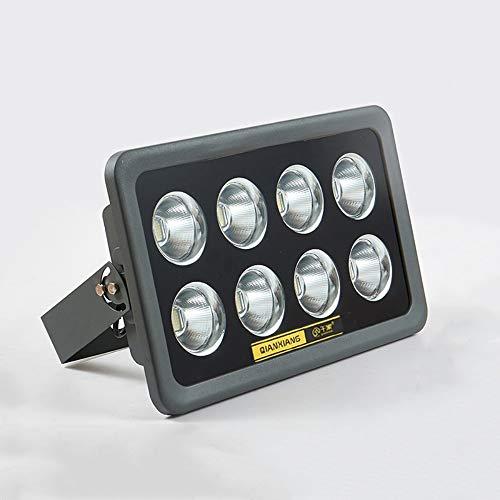 blanco fr/ío, 50W reflector de luz de trabajo IP67 a prueba de agua 5000LM 6000K Luz de seguridad super brillante Luz de pared con luz de techo alto CA 220V-240V Reflector LED de 50W