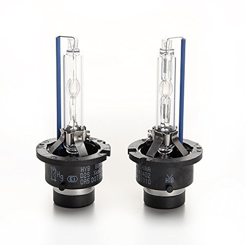 HYB 8000K 35W D2S car Xenon HID Headlight Replacement Bulb (Pack of 2)