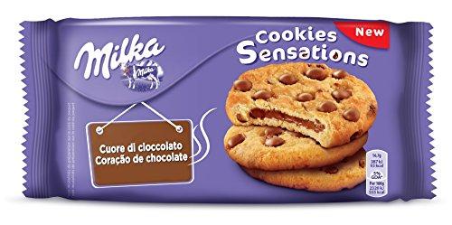 MILKA Cookies Biscuits Sensationen Schokolade Herz 156 4013552 süßen Snacks