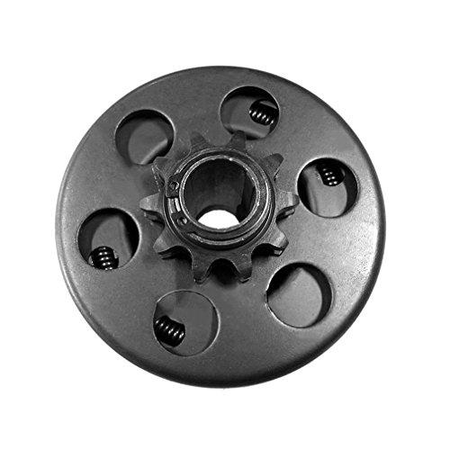 Embrague Kart de 10 Dientes con Embrague centrífugo de Cadena 40/41/420 de 3/4'de diámetro (Negro)