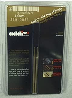 addi Click Lace Short Tip - US 6 - Set of 2