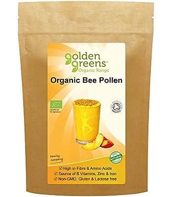 Golden Greens Organic Spanish Bee Pollen, GG59, 500g
