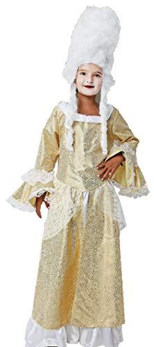 Gojoy shop- Disfraz de Baronesa de poca para Nias Carnaval ( Contiene Vestido, 4 Tallas Diferentes) (10-12 AOS)