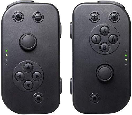 Manette jeu sans fil avec contrôleur jeu Bluetooth, charge, Vibration à distance pour manette jeu, Combinaison manette jeu à chargement rapiUSB, Manette jeu pour contrôleur jeu, Prise en charge du
