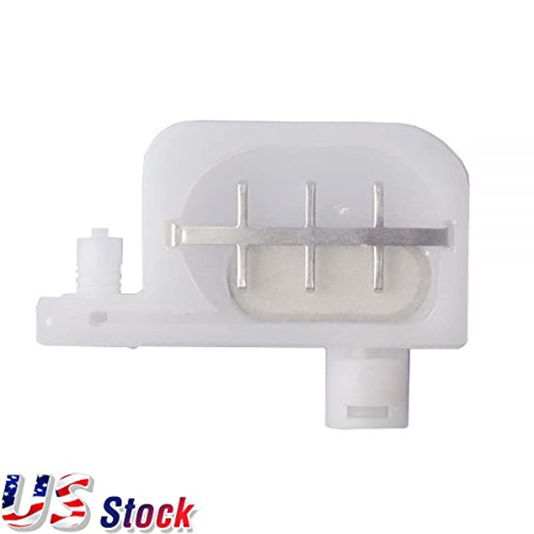 H-E 12pcs Small Damper Compatible with Epson DX4 Printhead Damper with Big Filter for Epson DX3 / DX4 / DX5 Head - in US Stock