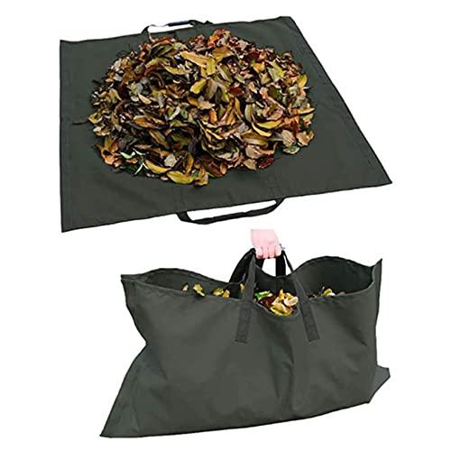 Bolsas para basura de jardín Sacos de basura de jardín Hoja de jardín con asas Recolector de basura de hojas de jardín, contenedor de lona para desechos de jardín de césped Bolsa de jardinería Basur