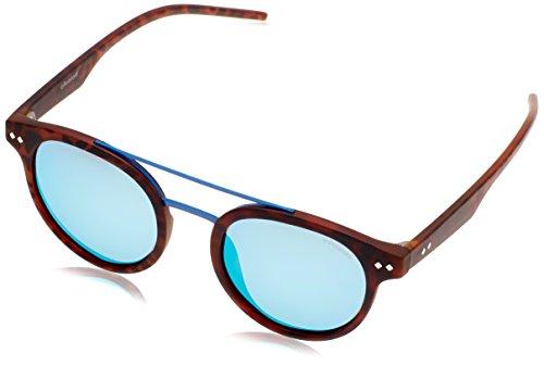 Polaroid PLD 6031/S 5X N9P gafas de sol, Marrón (Matt Havana/Grey Grey Speckled Blue Pz), 49 Unisex-Adulto