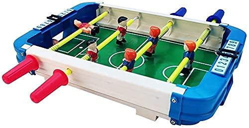 MU Mesa de Futbolismo de Futbolín, Juego de Fútbol Compacto de Mesa, para Sala de Juegos Juego Familiar Noche Tablas de Billar,Barra de Plástico