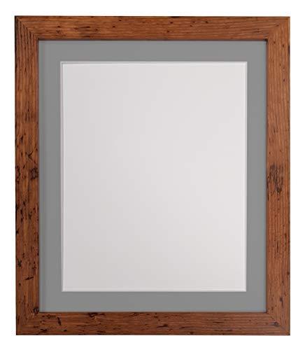 FRAMES BY POST - H7, Cornice per fotografie, Legno, Rustic Oak, A2 Image Size A3