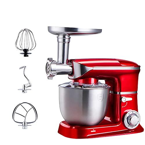 Küchenmaschine Rot, Teigknetmaschine,...