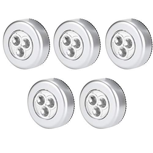 5 uds luz de Noche LED innovadora de bajo Consumo de energía Mini luz de Noche LED para Dormitorio del hogar Armario de Noche Armario Oficina en casa