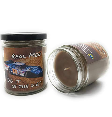 Blue Bug Candle Co. Dirt Race Candle 7.3 oz.