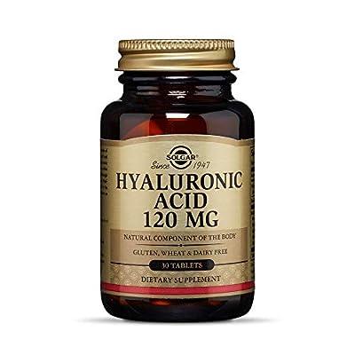 Solgar Collagen Hyaluronic Acid Complex Tablets, Pack of 30